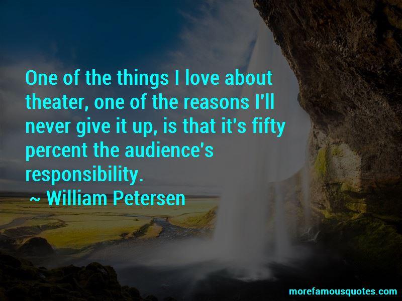 William Petersen Quotes Pictures 4