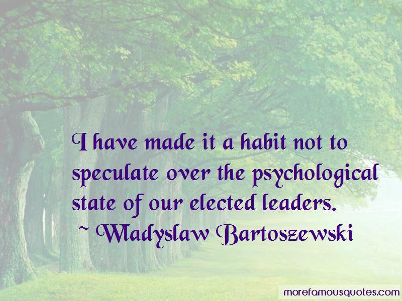 Wladyslaw Bartoszewski Quotes