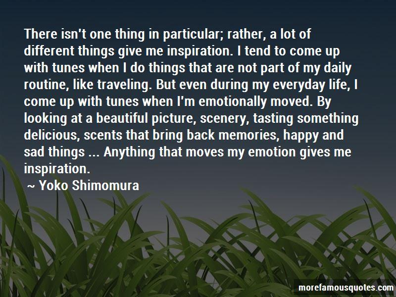 Yoko Shimomura Quotes