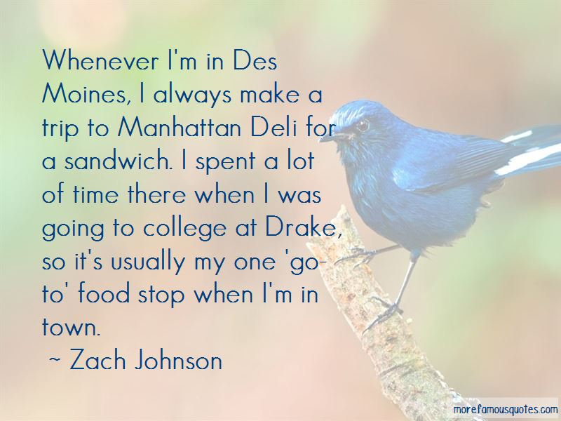Zach Johnson Quotes