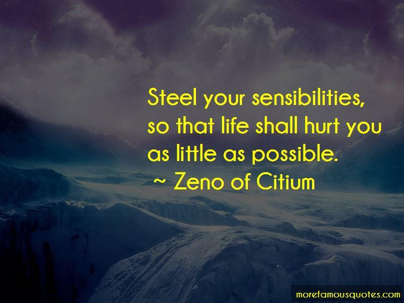 Zeno Of Citium Quotes: Top 15 Famous Quotes By Zeno Of Citium