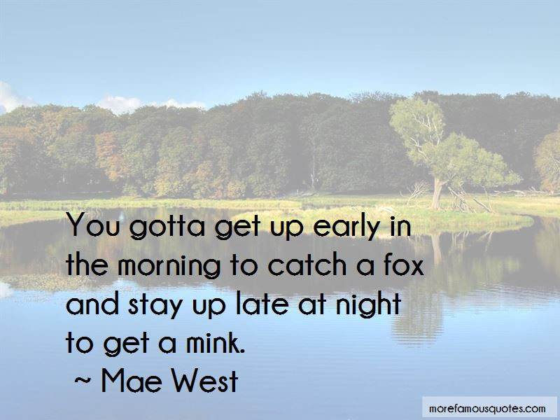 Quotes About Get Up Early