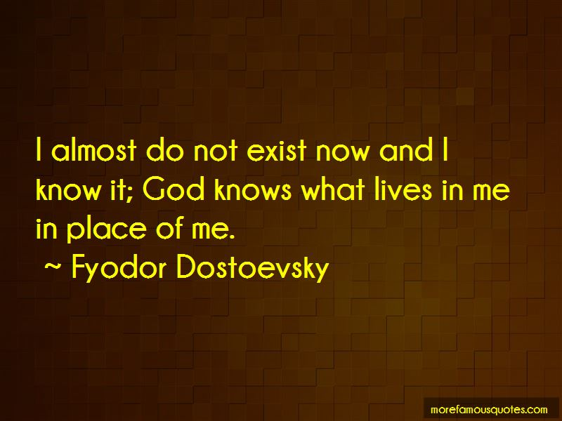 Quotes About God Knows