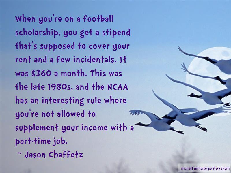 Football Scholarship Quotes