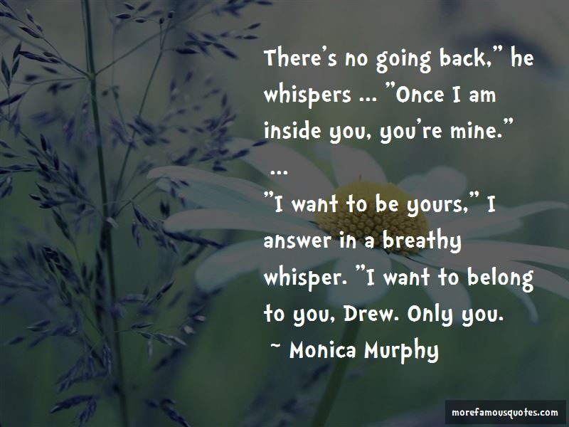 I Want To Belong To You Quotes