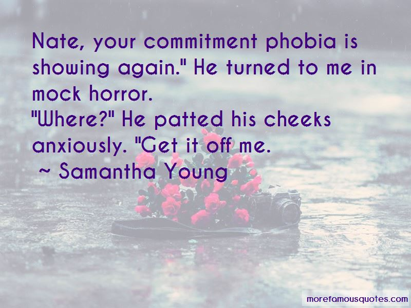 Quotes About Commitment Phobia