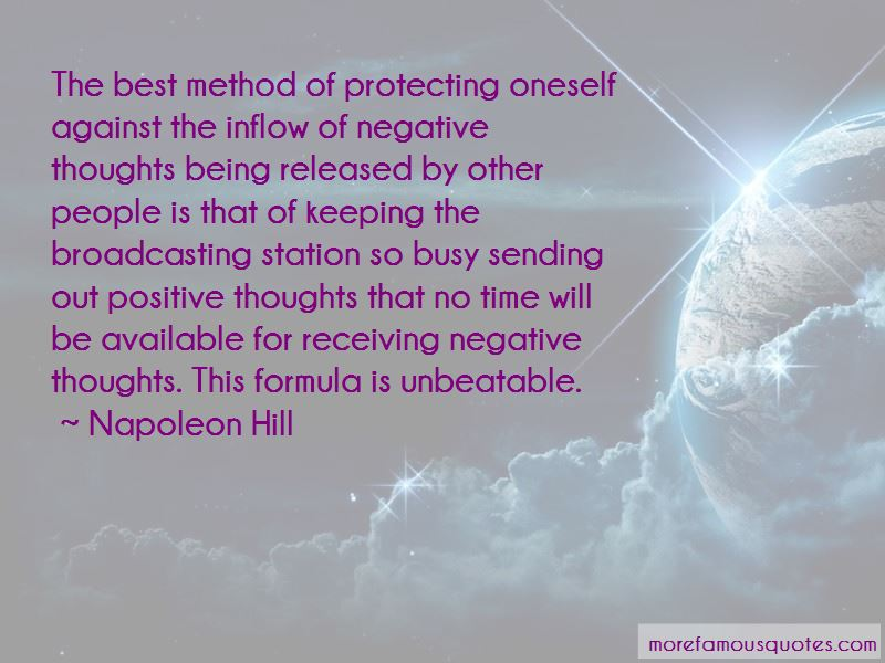Quotes About Keeping Positive Thoughts