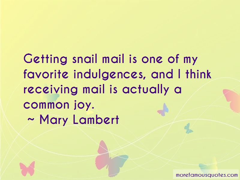 Quotes About Receiving Mail