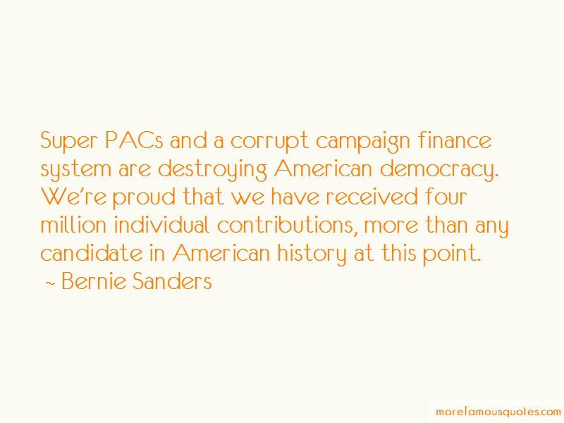 Quotes About Super Pacs