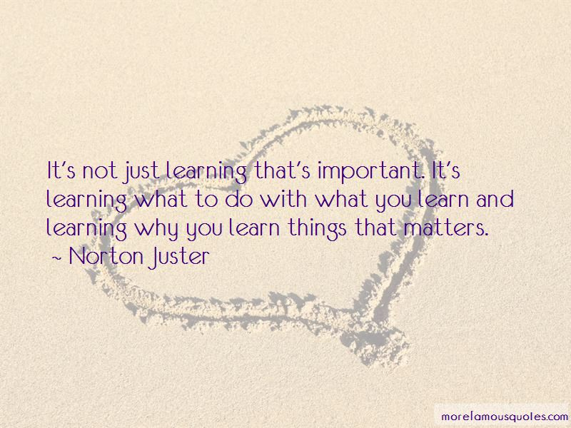 Quotes About Why Learning Is Important