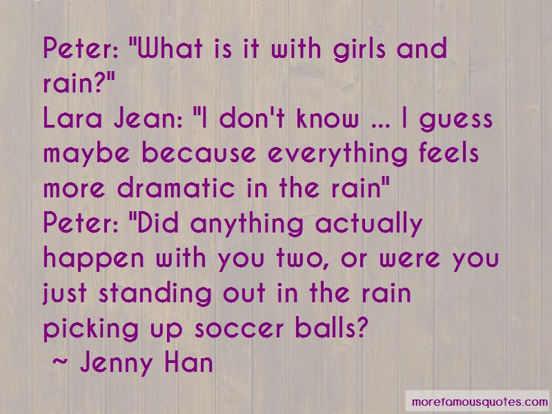 Soccer In The Rain Quotes