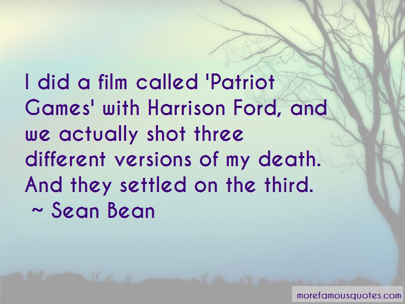 Harrison Ford Film Quotes
