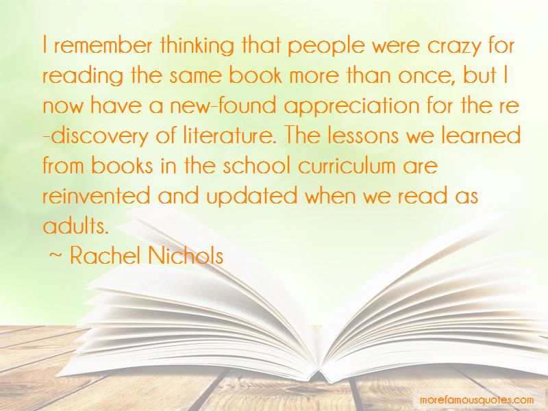Quotes About Lessons Learned In Books