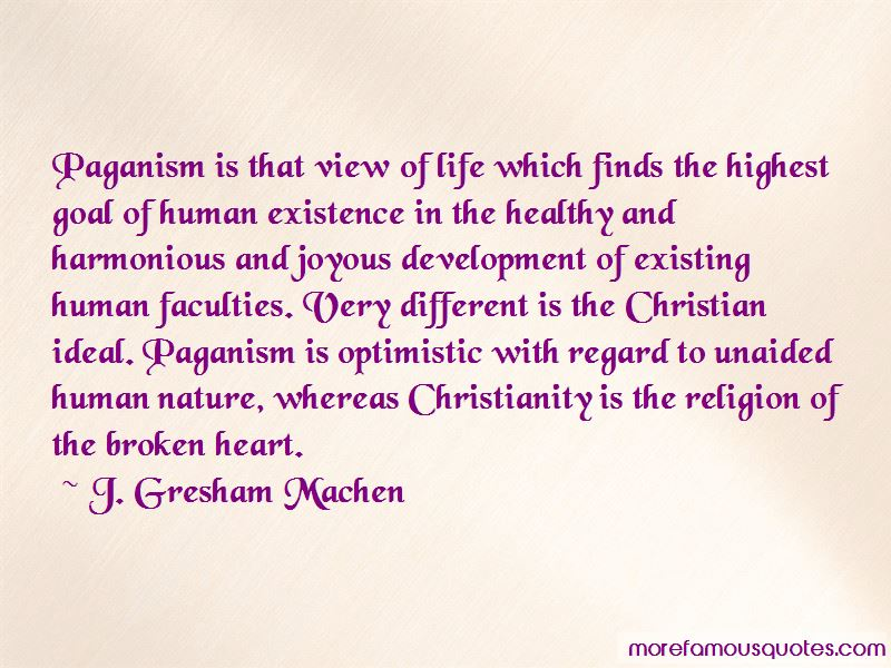 Paganism And Christianity Quotes Pictures 4