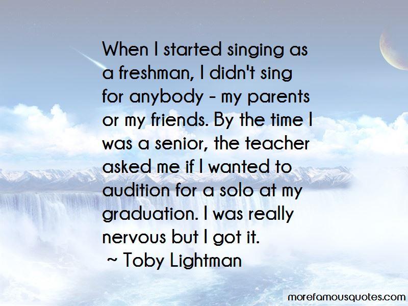 Quotes About Parents And Graduation