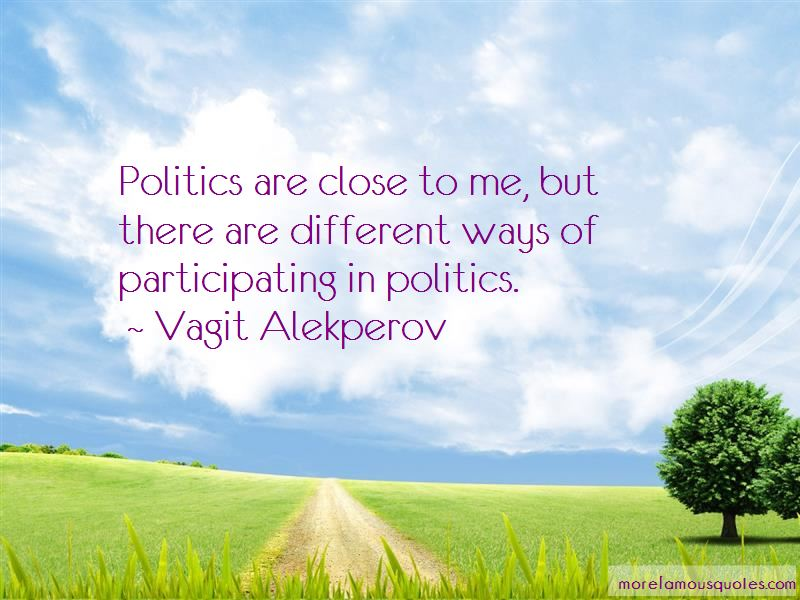 Quotes About Participating In Politics