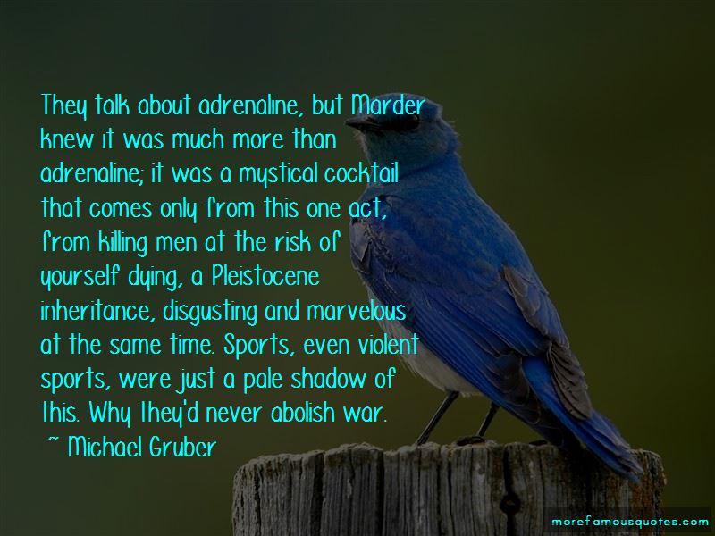 Quotes About Violent Sports