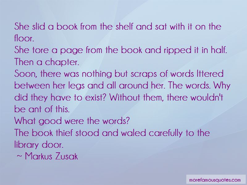 Quotes About Words In The Book Thief