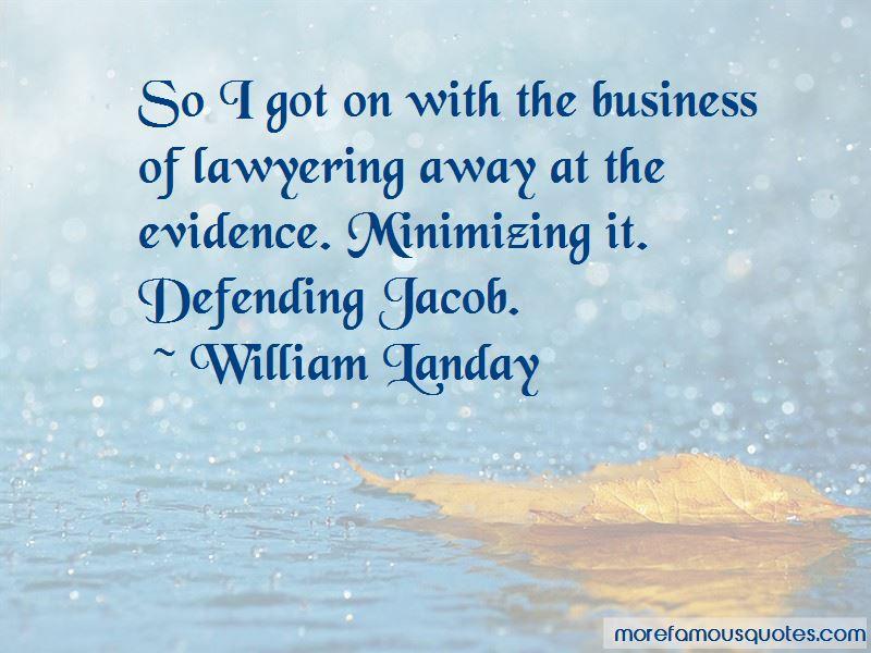 Defending Jacob Quotes
