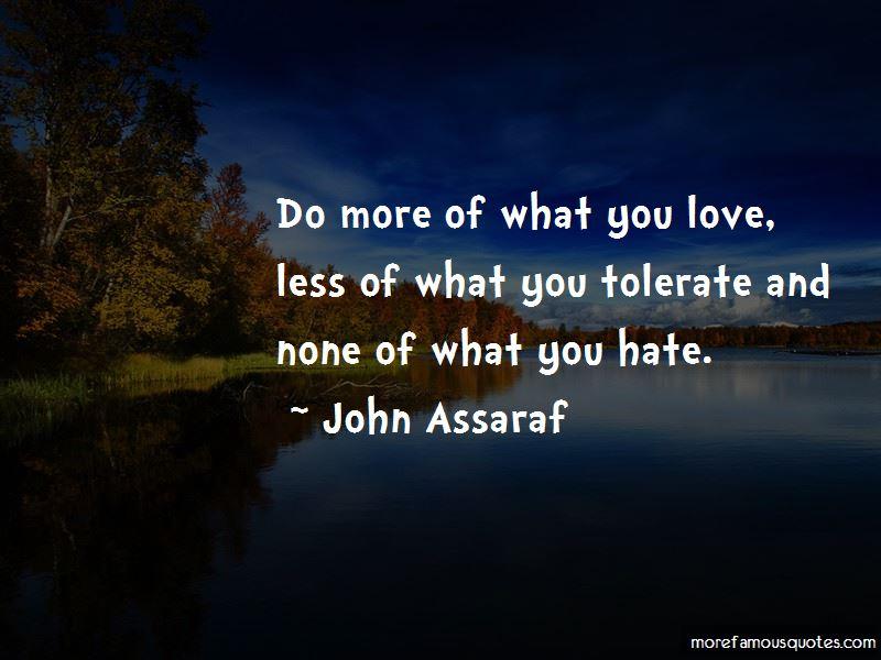 Love Tolerate Quotes