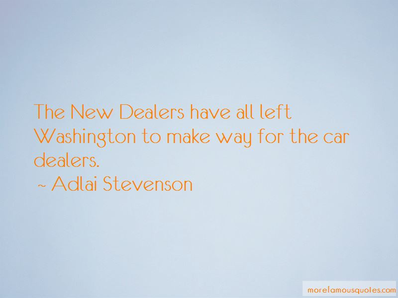 Quotes About Car Dealers