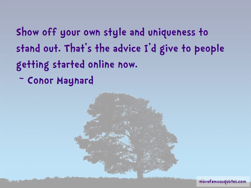 Quotes About Getting Your Own Style