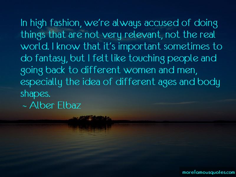 Quotes About High Fashion