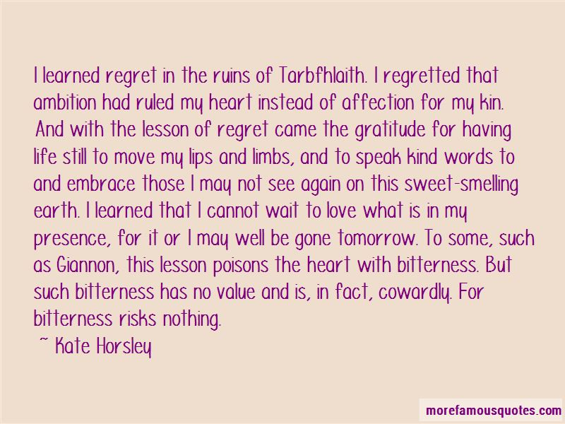 Quotes About Life Love And Regret