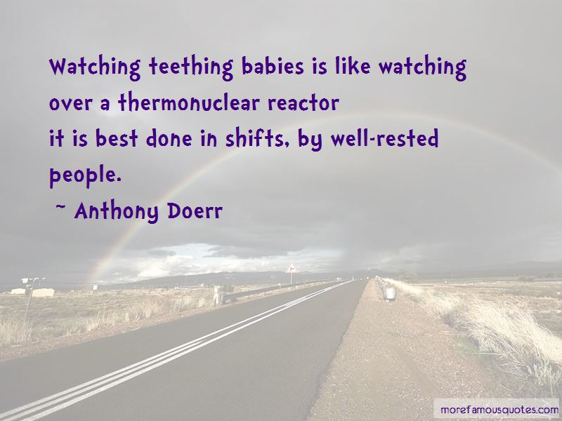 Quotes About Teething Babies