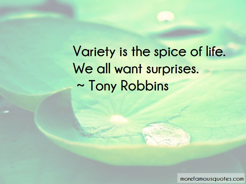 Variety Is The Spice Of Life Quotes Pictures 3