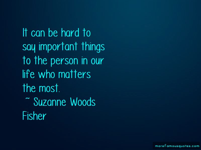 Quotes About Who Matters