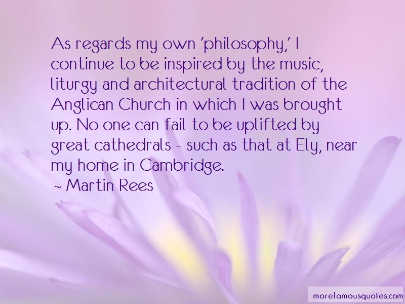 Quotes About Anglican Church