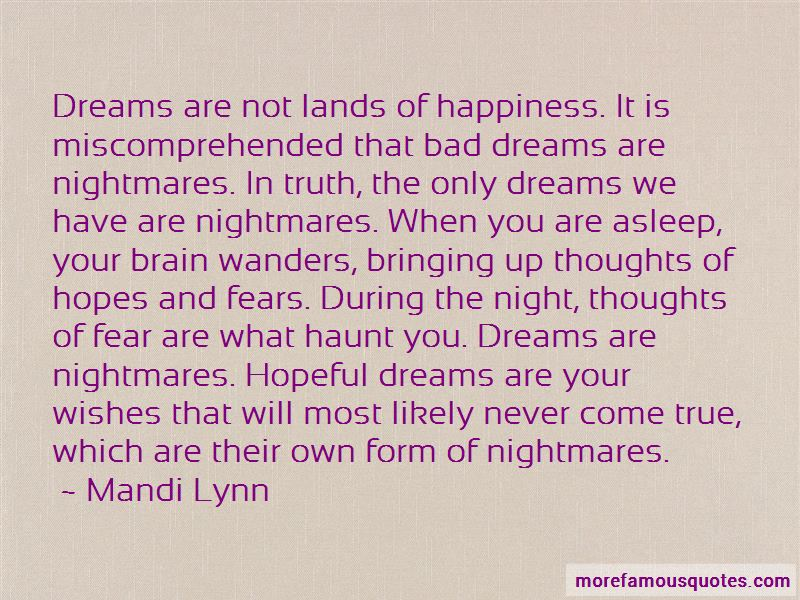 Dreams That Will Never Come True Quotes Pictures 3