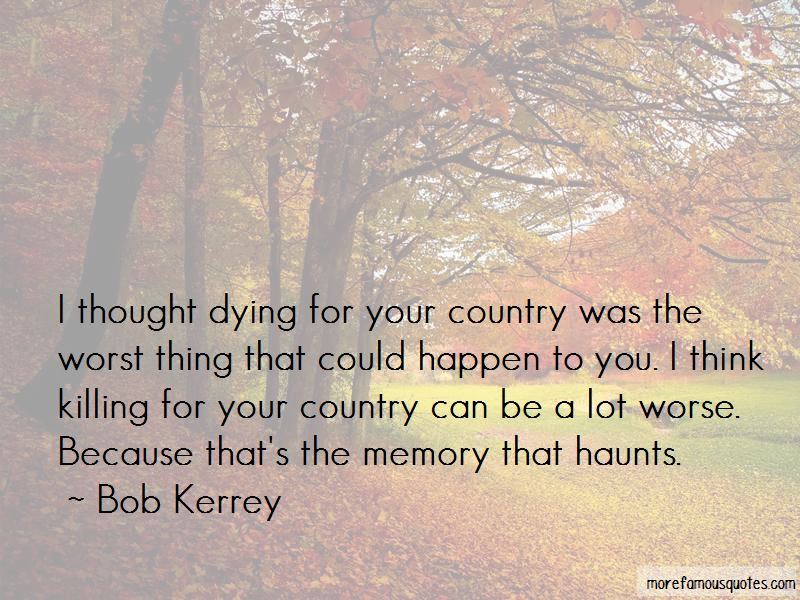 dying for your country essay Descriptive essay on my mother by lauren bradshaw june 5, 2014 sample essays my mother is without doubt the most important person in my life and the most complete.