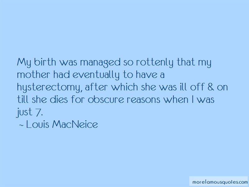 Quotes About Hysterectomy