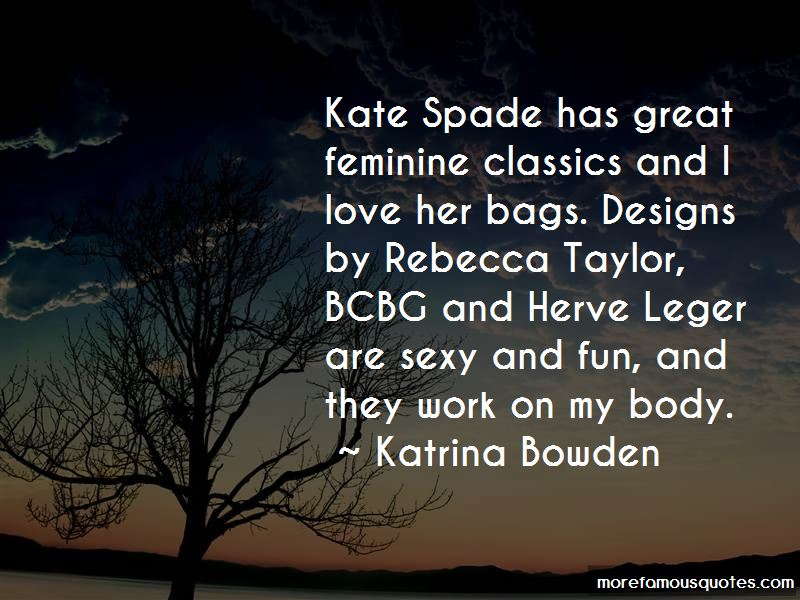 Quotes About Kate Spade