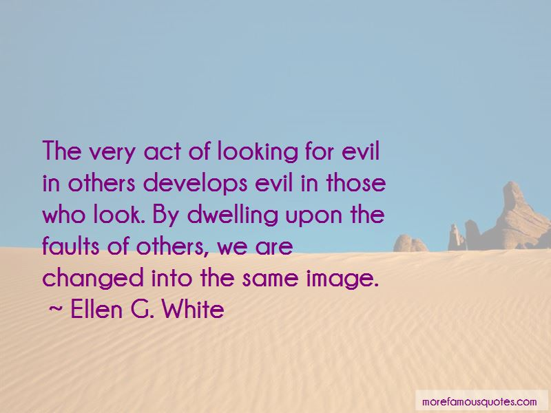 Looking For Faults Quotes Pictures 2