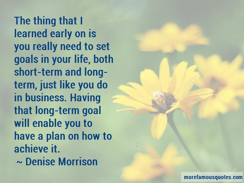 Short Term And Long Term Goals Quotes Pictures 3
