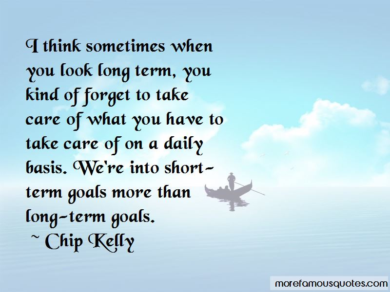 Short Term And Long Term Goals Quotes Pictures 4