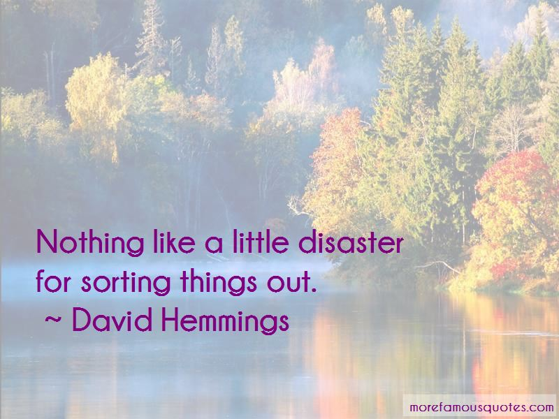 Quotes About Sorting Things Out