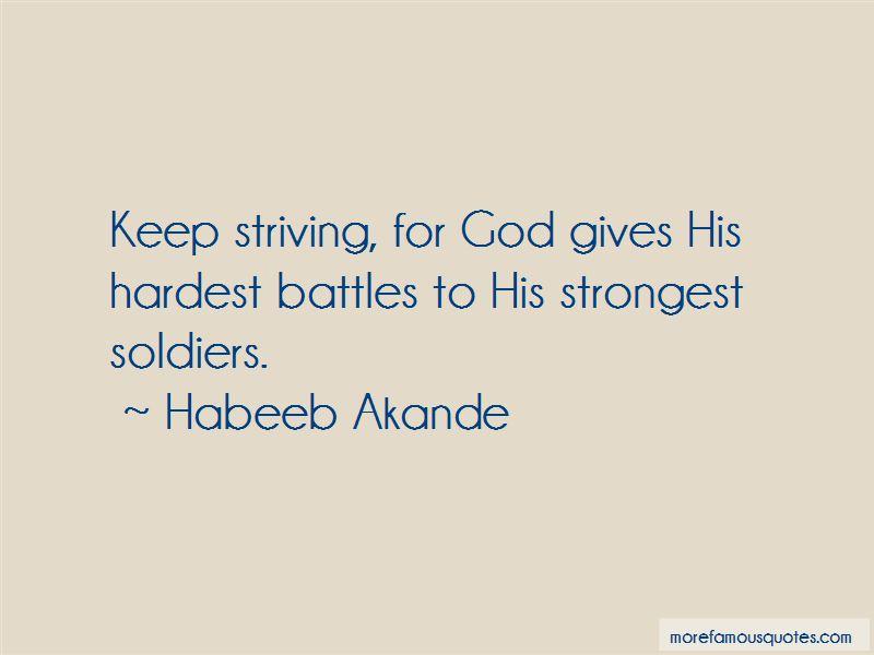 Strongest Battles Quotes