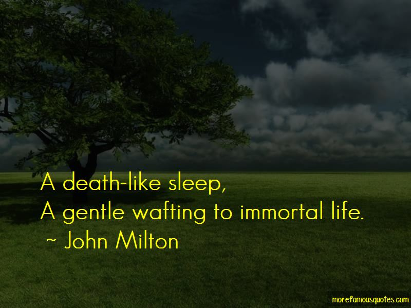 Death Like Quotes