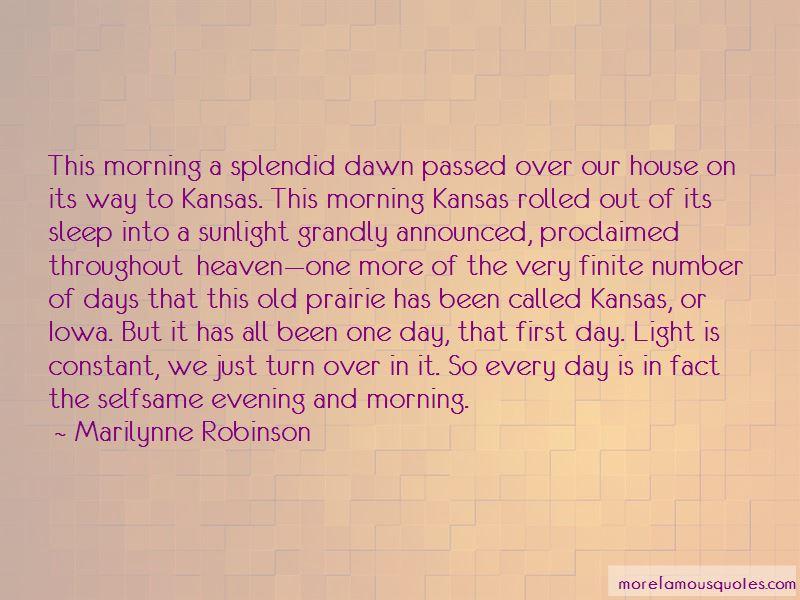 Prairie Dawn Quotes