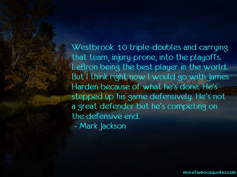 Quotes About James Harden