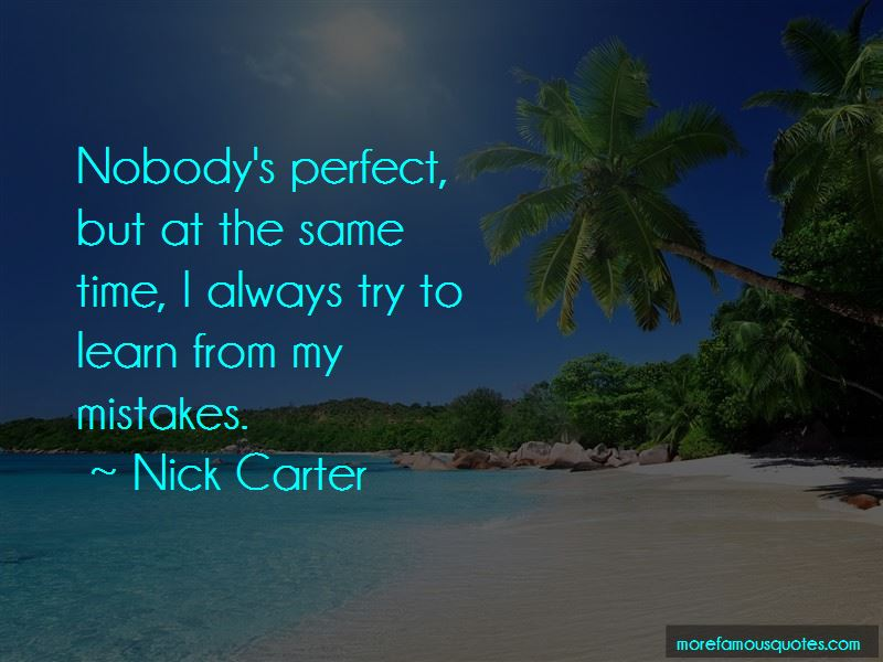 Nobody's Perfect Quotes Pictures 3