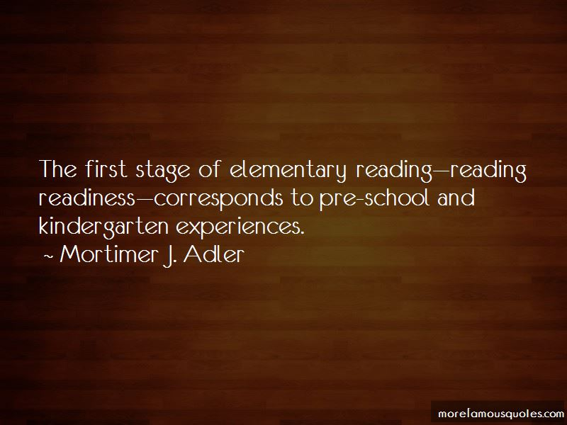 Quotes About Reading Readiness