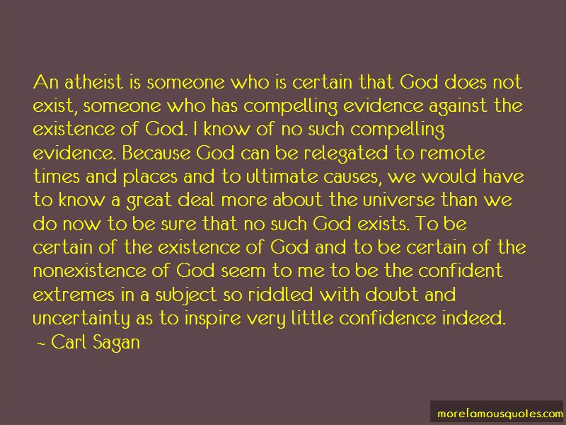 The Nonexistence Of God Quotes Pictures 2