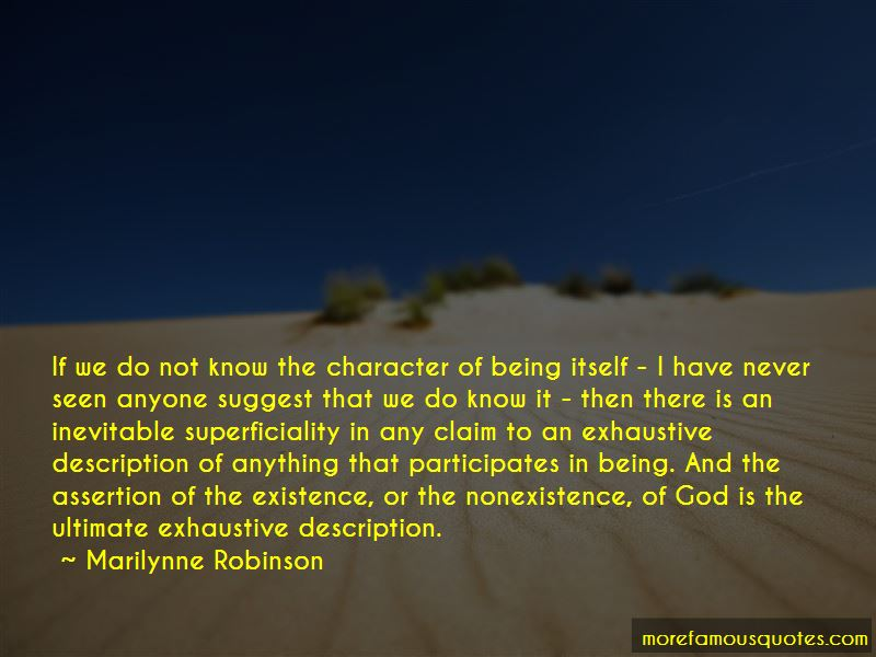 Quotes About The Nonexistence Of God