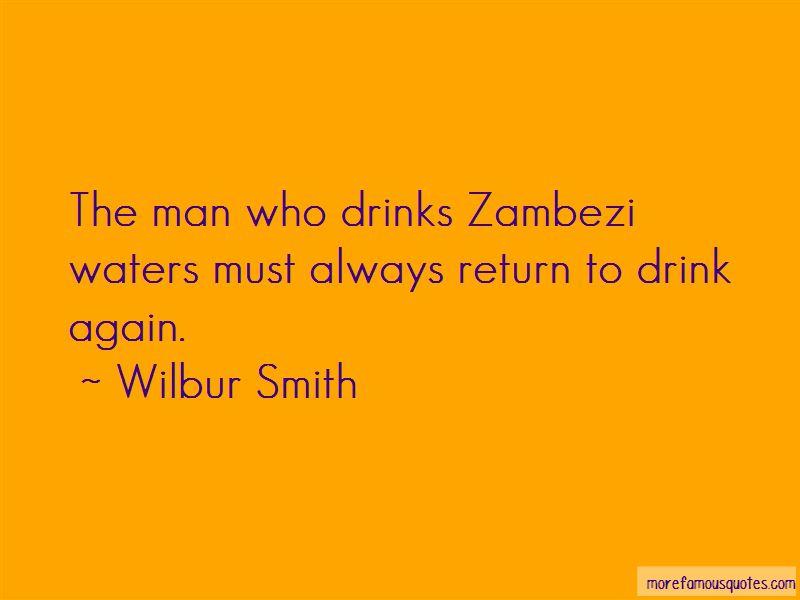 Quotes About The Zambezi