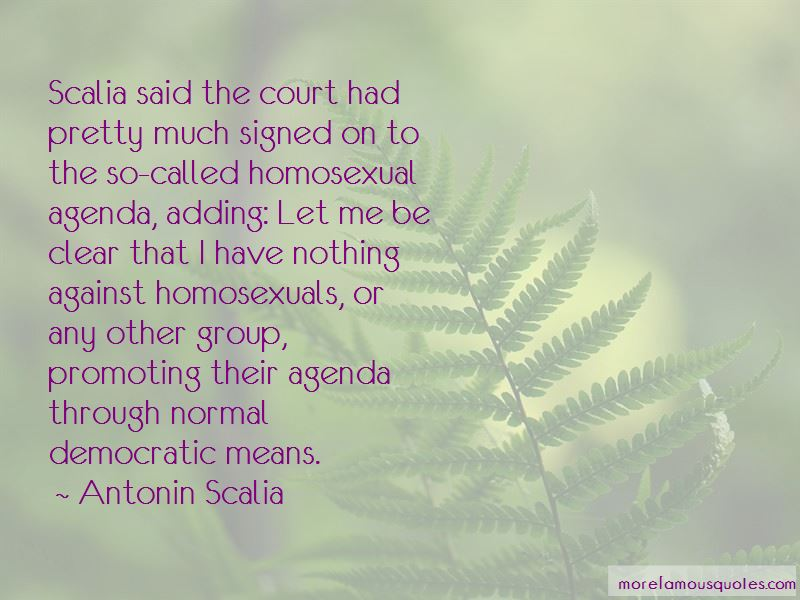 Homosexual Agenda Quotes Pictures 2